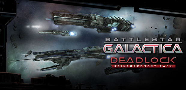 Battlestar Galactica Deadlock: Reinforcement Pack - Cover / Packshot