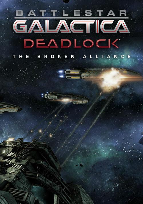 Battlestar Galactica Deadlock: The Broken Alliance - Cover / Packshot