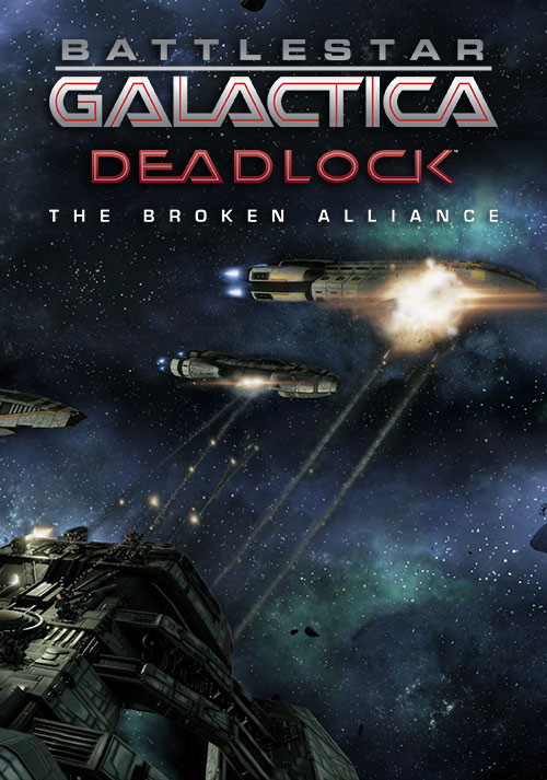 Battlestar Galactica Deadlock: The Broken Alliance - Cover