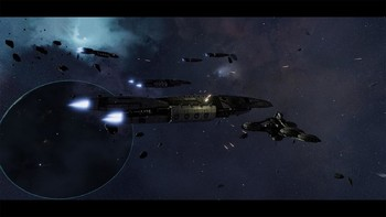 Screenshot3 - Battlestar Galactica Deadlock: The Broken Alliance