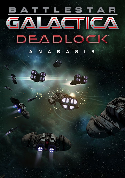 Battlestar Galactica Deadlock: Anabasis - Cover / Packshot