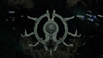 Screenshot1 - Battlestar Galactica Deadlock: Anabasis
