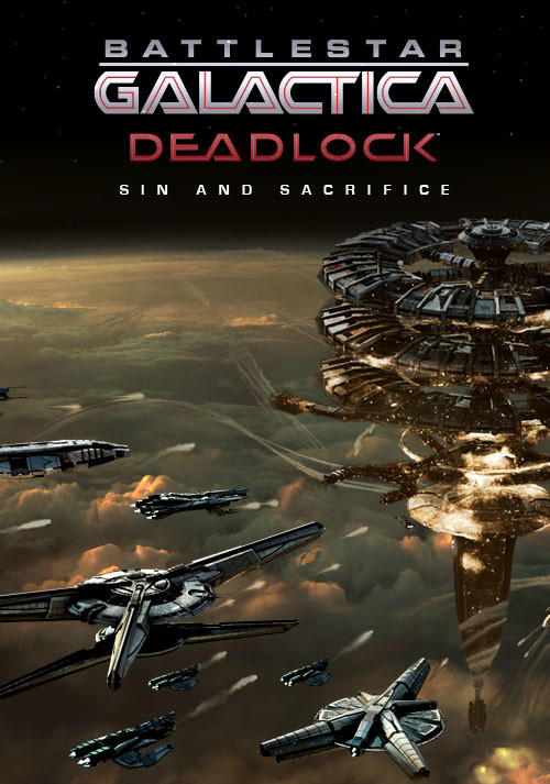 Battlestar Galactica Deadlock: Sin and Sacrifice - Cover
