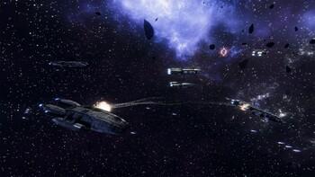 Screenshot6 - Battlestar Galactica Deadlock: Resurrection