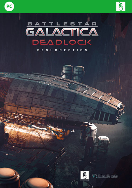 Battlestar Galactica Deadlock: Resurrection - Cover / Packshot