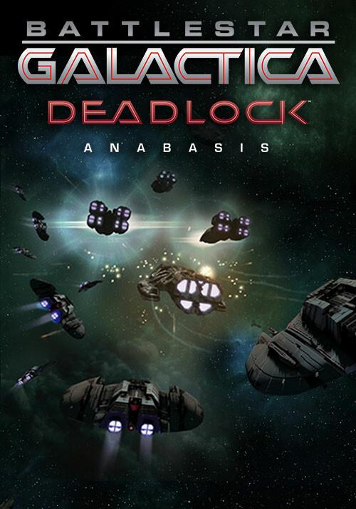 Battlestar Galactica Deadlock: Anabasis (GOG) - Cover / Packshot