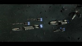 Screenshot2 - Battlestar Galactica Deadlock: Reinforcement Pack (GOG)