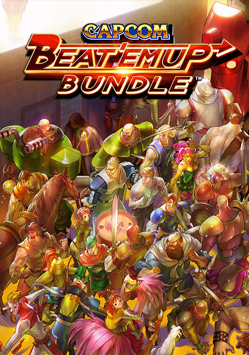 Capcom Beat 'Em Up Bundle - Cover