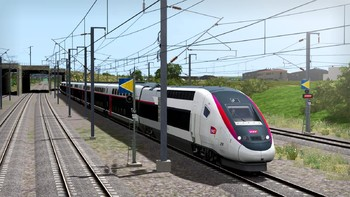Screenshot2 - Train Simulator: LGV Rhône-Alpes & Méditerranée Route Extension Add-On