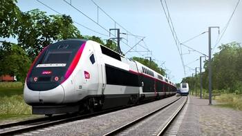 Screenshot1 - Train Simulator: LGV Rhône-Alpes & Méditerranée Route Extension Add-On