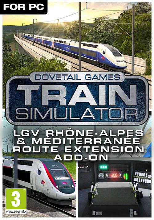 Train Simulator: LGV Rhône-Alpes & Méditerranée Route Extension Add-On - Cover