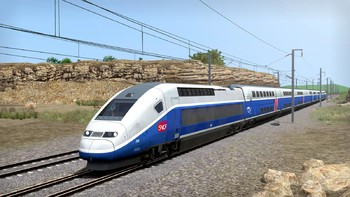 Screenshot4 - Train Simulator: LGV Rhône-Alpes & Méditerranée Route Extension Add-On