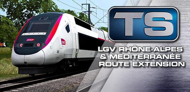Train Simulator: LGV Rhône-Alpes & Méditerranée Route Extension Add-On - Cover / Packshot