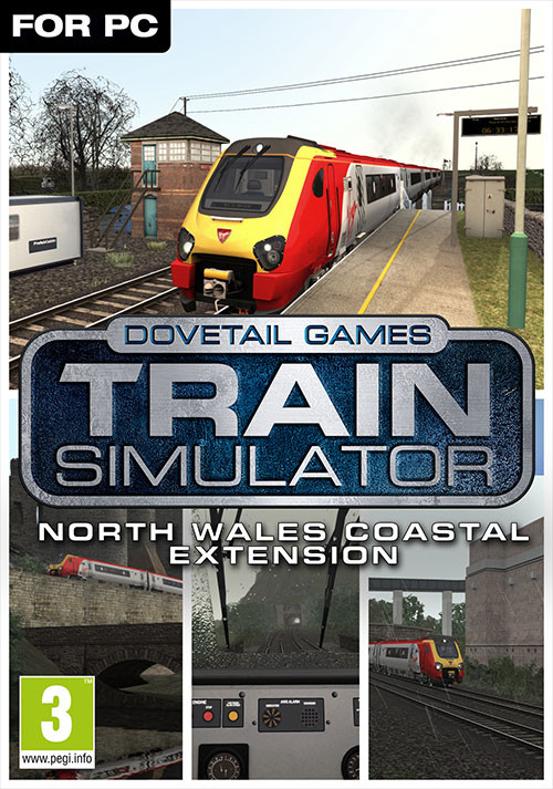 Train Simulator: North Wales Coastal Route Extension Add-On - Cover