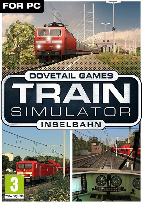Train Simulator: Inselbahn: Stralsund – Sassnitz Route Add-On - Cover