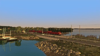 Screenshot2 - Train Simulator: Inselbahn: Stralsund – Sassnitz Route Add-On