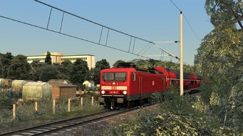 Screenshot1 - Train Simulator: Inselbahn: Stralsund – Sassnitz Route Add-On