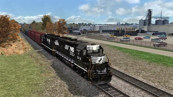 Screenshot1 - Train Simulator: Norfolk Southern N-Line Route Add-On