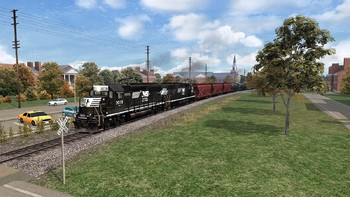 Screenshot5 - Train Simulator: Norfolk Southern N-Line Route Add-On
