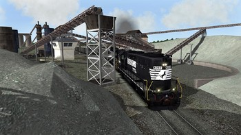 Screenshot7 - Train Simulator: Norfolk Southern N-Line Route Add-On