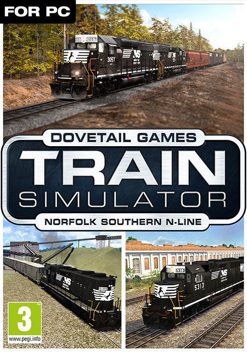 Train Simulator: Norfolk Southern N-Line Route Add-On - Cover / Packshot