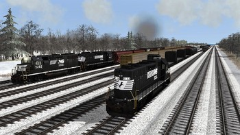 Screenshot2 - Train Simulator: Norfolk Southern N-Line Route Add-On