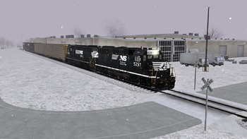 Screenshot3 - Train Simulator: Norfolk Southern N-Line Route Add-On