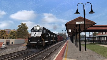 Screenshot4 - Train Simulator: Norfolk Southern N-Line Route Add-On