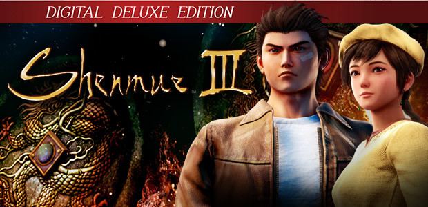 Shenmue III - Deluxe Edition - Cover / Packshot