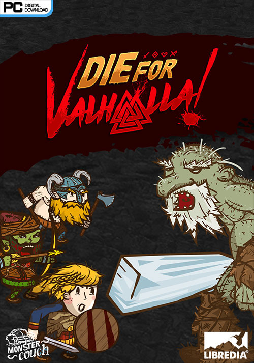 Die for Valhalla! - Cover