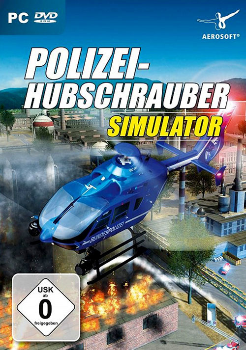 Polizeihubschrauber Simulator - Cover
