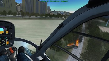 Screenshot2 - Polizeihubschrauber Simulator