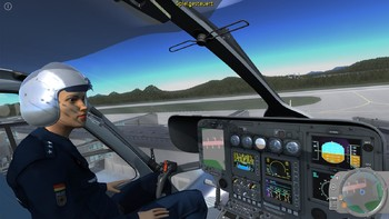 Screenshot3 - Polizeihubschrauber Simulator