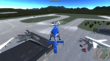 Screenshot5 - Polizeihubschrauber Simulator