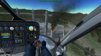 Screenshot7 - Polizeihubschrauber Simulator