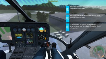 Screenshot8 - Polizeihubschrauber Simulator