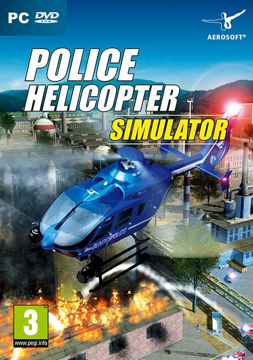 Police Helicopter Simulator - Cover / Packshot