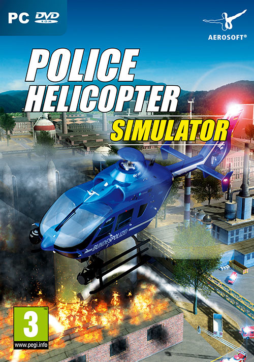 Police Helicopter Simulator - Cover / Packshot
