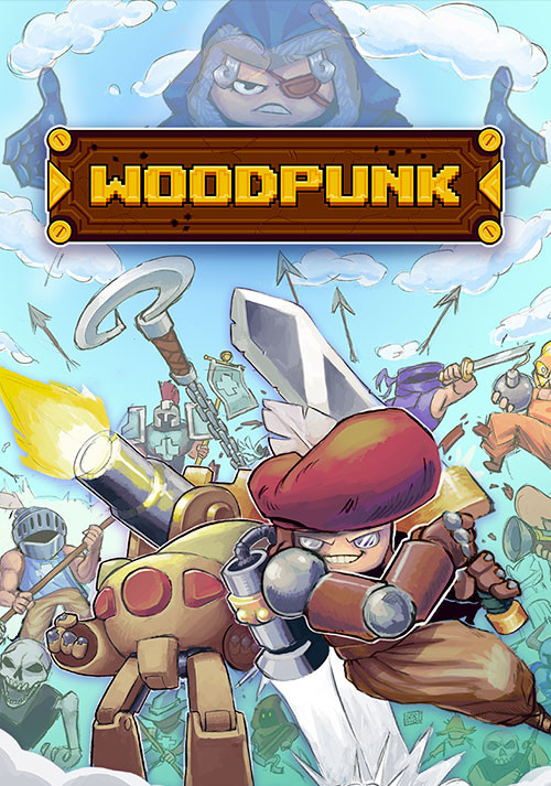 Woodpunk - Cover / Packshot