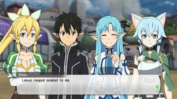 Screenshot1 - Sword Art Online: Lost Song