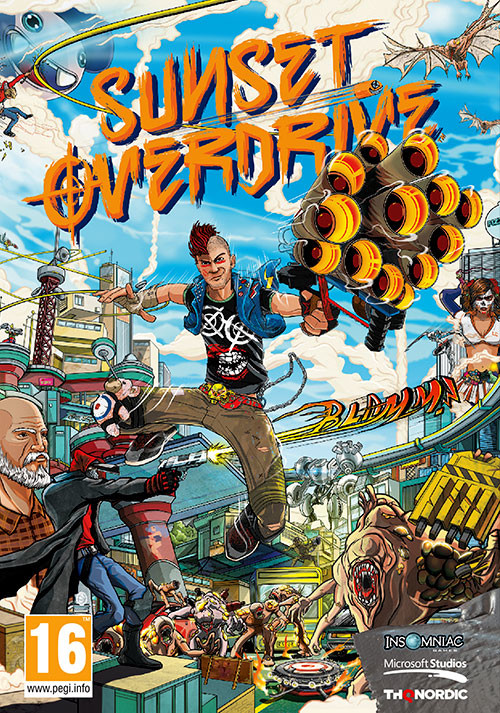 Sunset Overdrive - Cover / Packshot