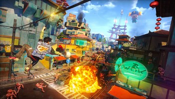 Screenshot4 - Sunset Overdrive