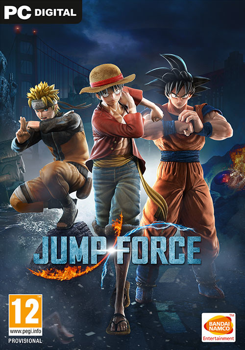 JUMP FORCE - Cover