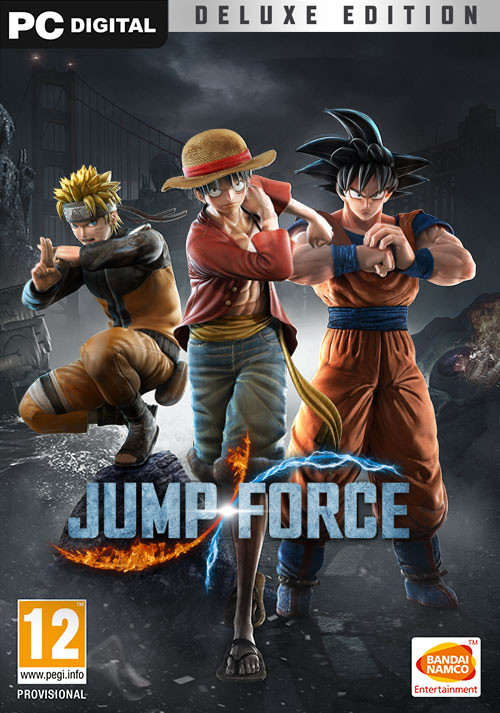 JUMP FORCE - Deluxe Edition - Cover / Packshot