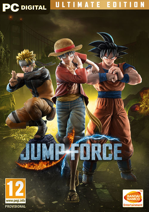 JUMP FORCE - Ultimate Edition - Cover