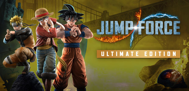 JUMP FORCE - Ultimate Edition - Cover / Packshot
