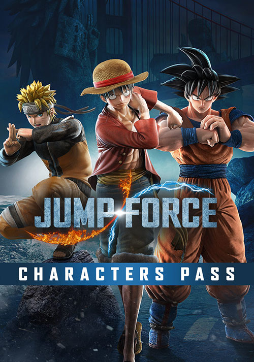 JUMP FORCE - Characters Pass - Cover / Packshot