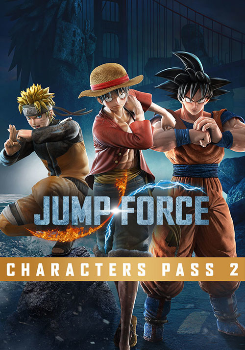 JUMP FORCE - Characters Pass 2 - Cover / Packshot