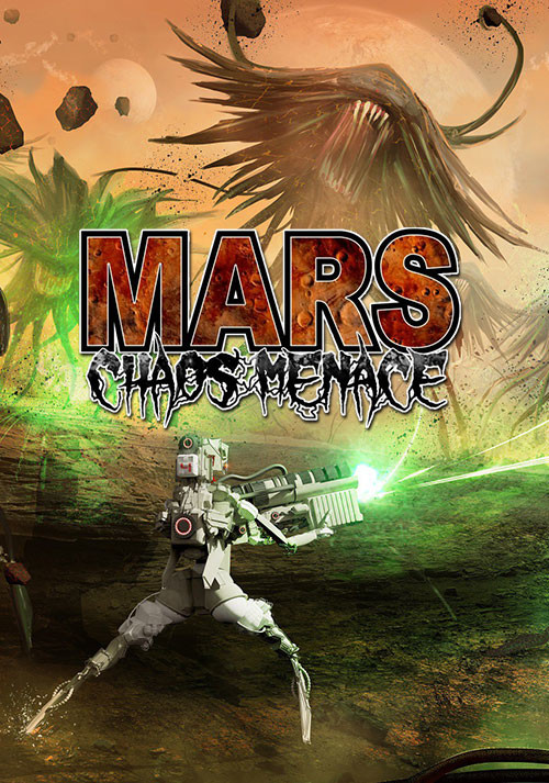 Mars: Chaos Menace - Cover