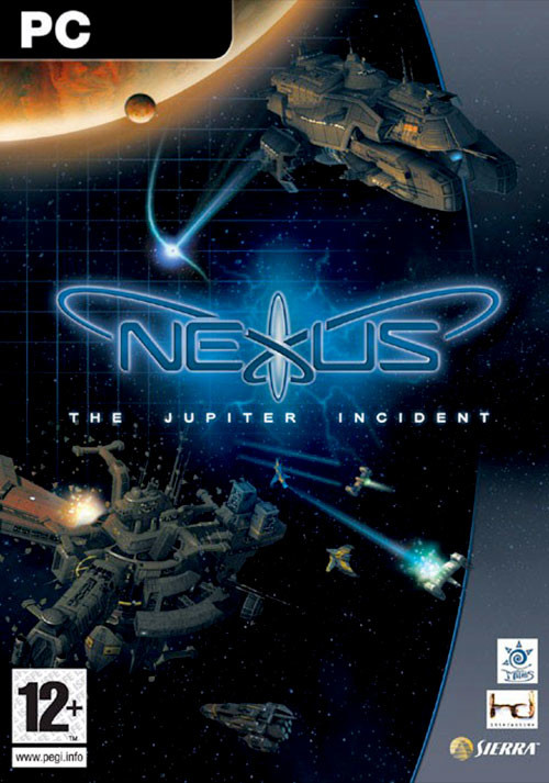 Nexus - The Jupiter Incident - Cover / Packshot